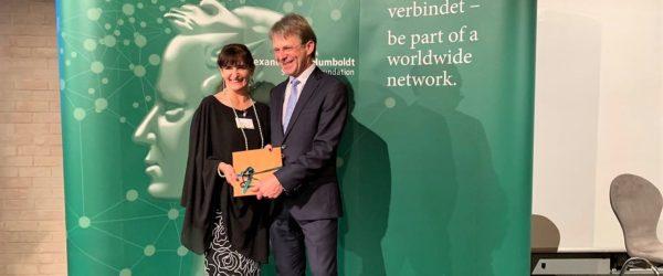 Entrega del Premio Georg Forster – Forschungspreis a Marleen Haboud