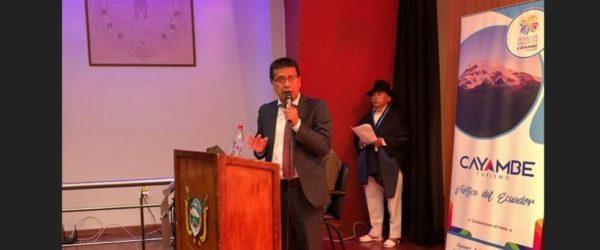Lanzamiento del proyecto sociolingüístico para el cantón Cayambe