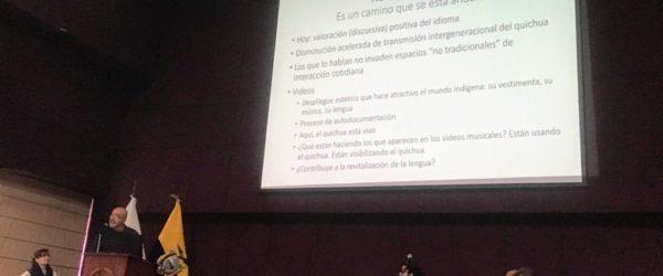 I Congreso de Investigación Lingüística (PUCE)