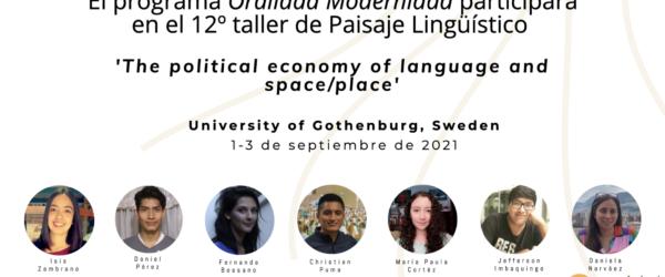 12th Linguistic Landscape Workshop