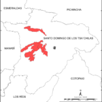 Ubicación Comunidades Tsa'chila