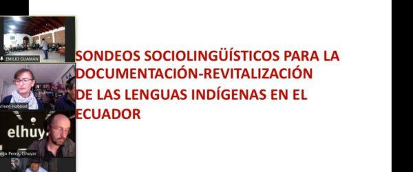 Taller sobre documentación y revitalización lingüística